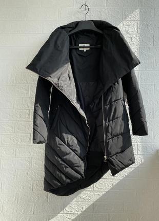 Зимняя куртка длинная