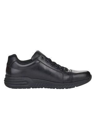 Оригінальні чоловічі шкіряні кросівки rieker (b4712/00)