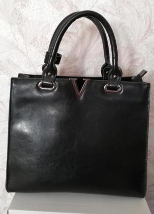 Модная сумка на осень кожа