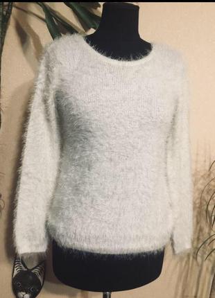 🔥отличный🔥 свитер кофта травка пушистый