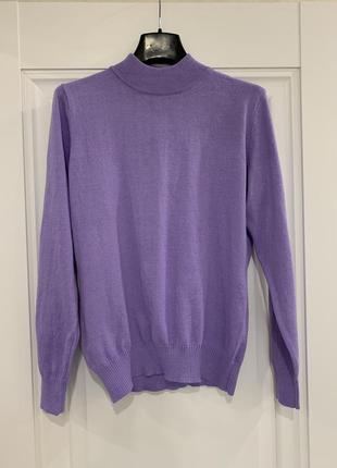 Свитер свитерок джемпер цвета лаванды м - размер