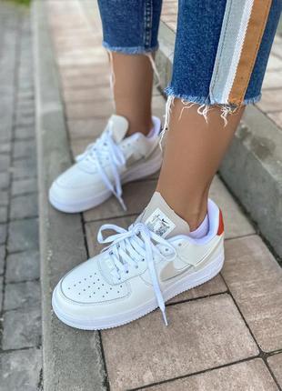 Женские кроссовки nike air force low white скидка sale |  жіночі кросівки найк білі знижка