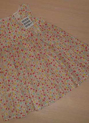 Платье, сарафан h&m, катон, 9-12 мес 86-92 см, оригинал