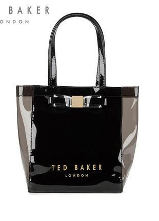 Маленькая культовая сумка с бантиком ted baker revcon
