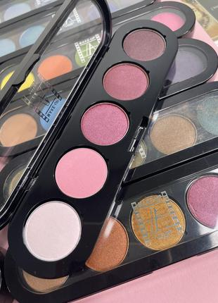 Палетка теней make-up atelier paris