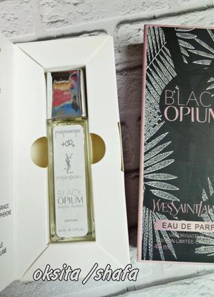 🔴 black opium exotic illusion🔴парфюмы духи с феромонами 40 мл usa