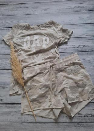Костюм комплект шорты короткие и футболка милитари оригинал