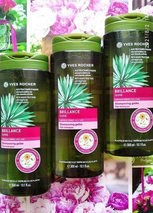 Шампунь шампунь-гель для волос жизненная сила и блеск ив роше с маслом календулы