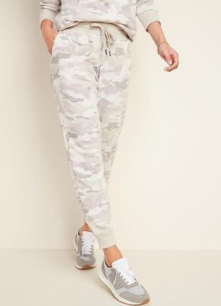 Джогеры штаны утеплены теплые штани спортивные хакки old navy l tall