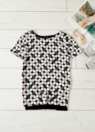 Стильная блуза _ткань и трикотаж