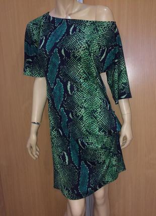 Diane von furstenberg  эффектное платье натуральный шёлк трикотаж