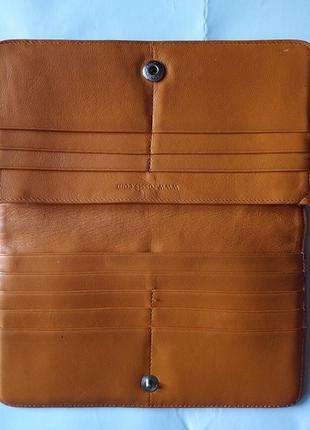 Кожаный кошелек rossis швейцария. унисекс