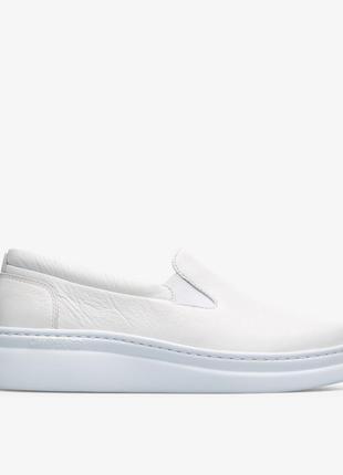 Слипоны camper белый / 41 размер