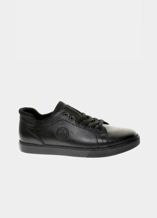 Оригінальні чоловічі шкіряні кросівки rieker (b7004/00)
