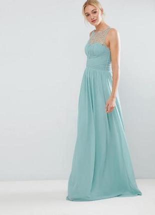 Платье/вечернее/коктейльное/шифоновое s-m