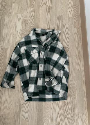 Рубашка теплая dilvin zara s