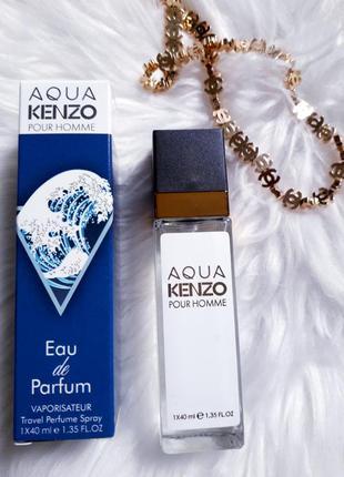 Aqua pour homme тестер 40 мл, духи, парфюм, туалетная вода, парфуми