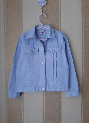 Джинсовая куртка(р.116)