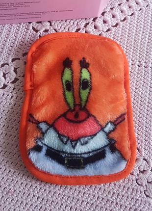 Makeup eraser spongebob squarepants многоразовая салфетка для демакияжа