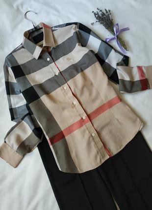 Брендова котонова рубашка блузка