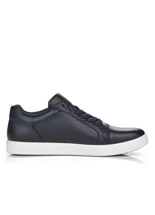 Оригінальні чоловічі шкіряні кросівки rieker (b7014/14)