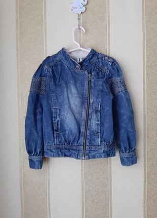 Джинсовая куртка blue ridge(р.128)