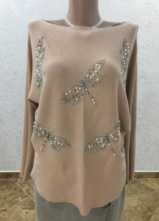 Нарядна/нарядная кофта/светр
