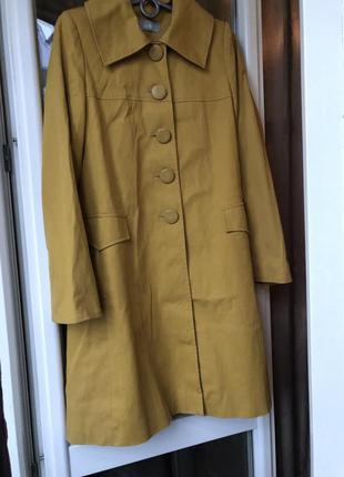 Тренч пальто стильне