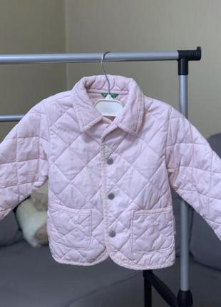 Курточка весна-осень, куртка, пуховик для девочки benetton