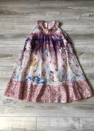 Нарядное платье baker 6лет