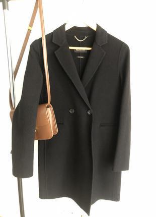 Шерстяное пальто без подкладки