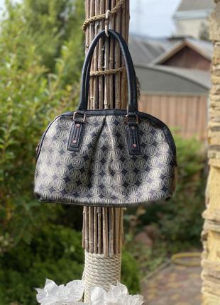 Шикарная женская сумка dkny donna karan monogram