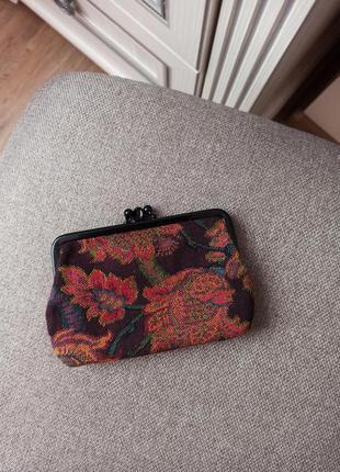 Эксклюзивный винтажный кошелек монетница