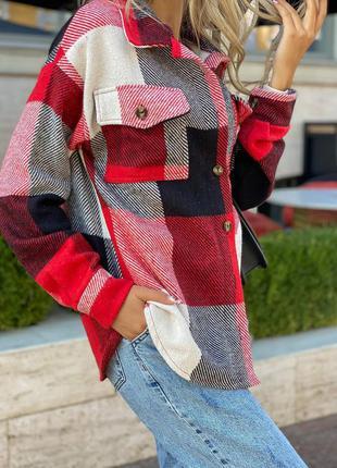 Модняча кашемірова жіноча сорочка бом