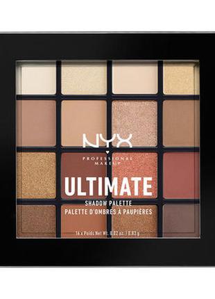 "Тени nyx ultimate shadow palette ""warm neutrals"""