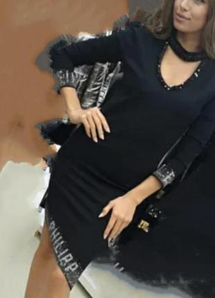Шикарное облегающее платья,одна сторона длинее,с сокером,мега стильное, качество люкс.