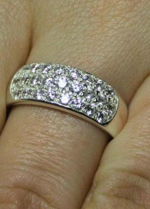 Кольцо серебро 925 проба 18 размер.вес 2.33 грамм