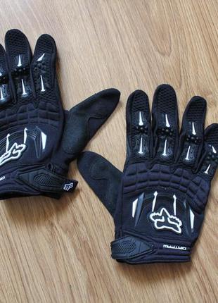 Мотоперчатки fox dirtpaw race черные размер xl