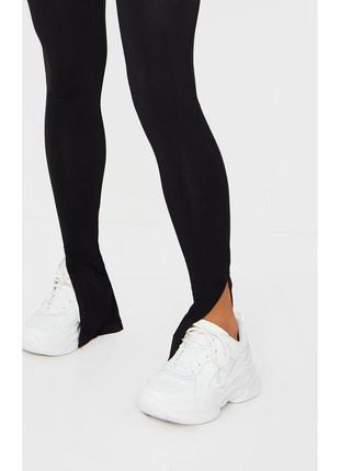 Штаны с разрезами лосины с разрезами актуальные штаны missguided леггинсы с боковыми разрезами
