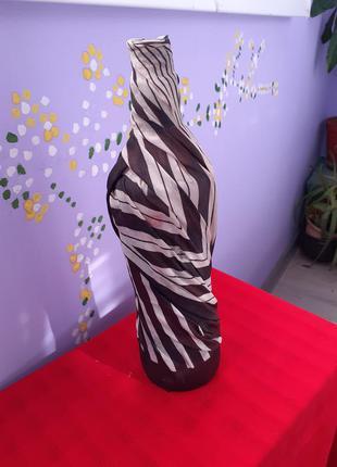 Ваза хендмейд-декоративная бутылка