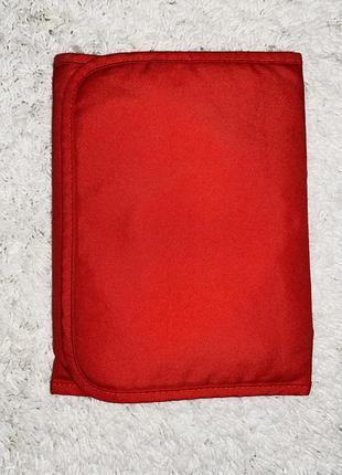 Непромокаемая пеленка красная к коляске stokke
