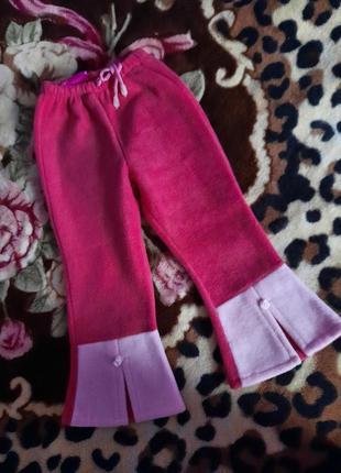 Флісові штани на 3-4 роки