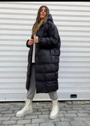 Женское/пальто свободного кроя/дутик/oversize.