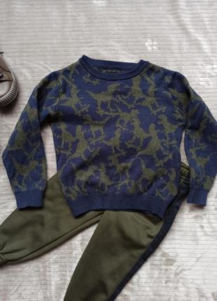 Хлопковый свитерок/кофта