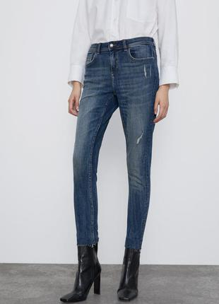 Новые женские джинсы zara 36 zara жіночі штани s zara джинси 36