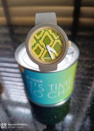 Шикарные часики o'clock от o bag! оригинал! плюс подарок!