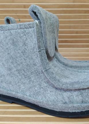 Стильные мужские зимние ботинки из натурального войлока р. 41-46