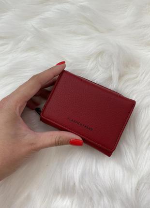 Жіночий гаманець, малий, червоний