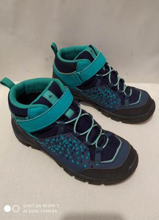 Водонепроницаемые ботинки quechua waterproof