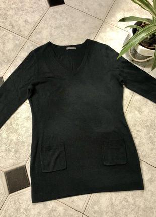 Базовый свитер south/ чёрная туника